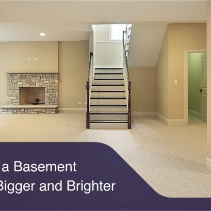 How to Make a Basement House Look Bigger and Brighter